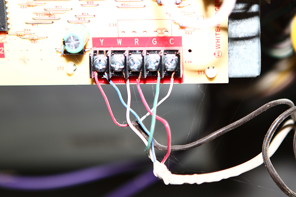 Smarthome Forum - Help wiring Venstar T1700 (4-wire, pics included)