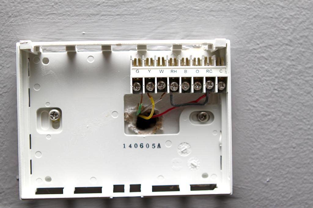 smarthome forum help wiring venstar t1700 4 wire pics included rh forum smarthome com Robertshaw Thermostat Wiring 4 Wire Thermostat Wiring